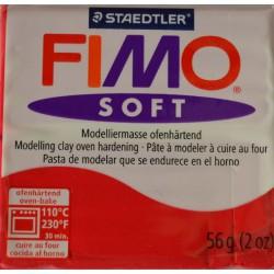 Fimo soft  26 rouge cerise