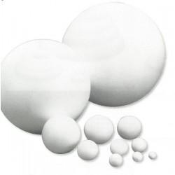 Boule en sagex séparable 15 cm