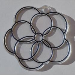 Fleur en acryl 6 cm
