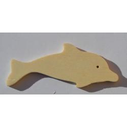 Petit dauphin en bois 7 cm