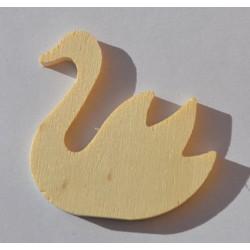 Petit cygne en bois 5 cm