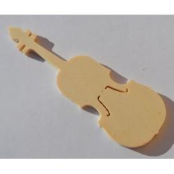 Petit violon en bois 10 cm