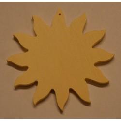 Petit soleil en bois 6 cm