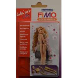 FIMO moule Dolls' art Lilly
