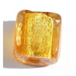 Petit carré ambre 10 mm