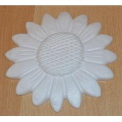 Tournesol en sagex plat 15 cm