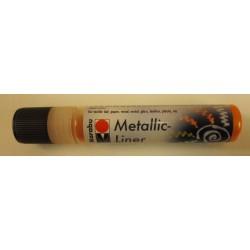 Metallic Liner orange 713 25ml