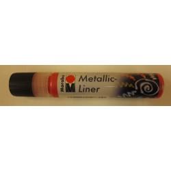 Metallic Liner rouge 732 25ml