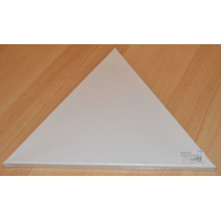 Toile sur cadre triangulaire 40 x 40 x 40 cm