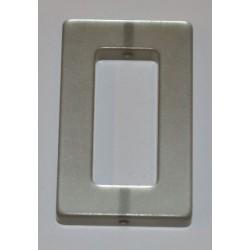 Polaris rectangle 20 x 30 mm gris