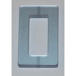 Polaris rectangle 20 x 30 mm bleu