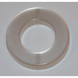 Polaris rond 22 mm blanc