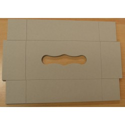 Boîte rectangulaire en carton pour Tempo 23 x 12 x 7 cm