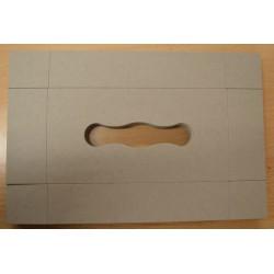 Boîte rectangulaire en carton pour Kleenex 23 x 12 x 5 cm