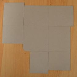 Bloc note en carton 10,5 x 10,5 x 9 cm