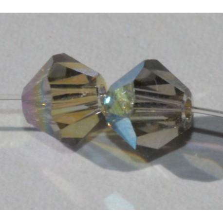 Toupie Swaro 4mm Black diamond AB