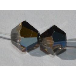 Toupie Swaro 4mm Crystal tabac