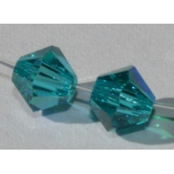 Toupie Swaro 4mm Blue zircon AB