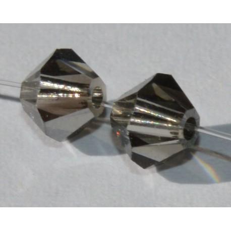 Toupie Swaro 4mm Black diamond satin