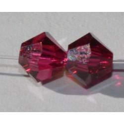 Toupie Swaro 4mm Ruby AB