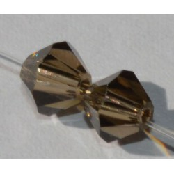 Toupie Swaro 4mm Smoky Quartz