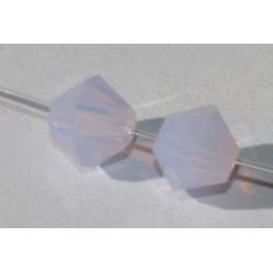 Toupie Swaro 4mm Violet opal