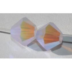 Toupie Swaro 4mm Violet opal AB2x