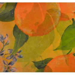 Feuille Décopatch 30x38.5cm Orange 237