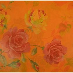 Feuille Décopatch 30x38.5cm roses 421