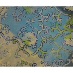 Feuille Décopatch 30x38.5cm bleu vert 425