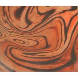 Feuille Décopatch 30x38.5cm brun roux 448