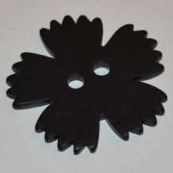 Oeillet 4 cm noir