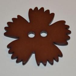 Oeillet 4 cm brun