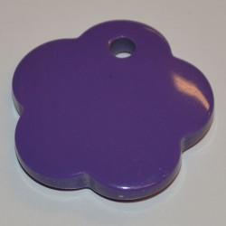 Fleur acryl 25 mm violet