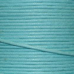 Coton ciré 1.5 mm turquoise clair