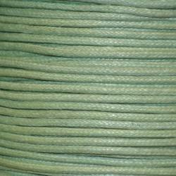 Coton ciré 1.5 mm vert clair