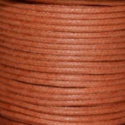 Coton ciré 1.5 mm caramel