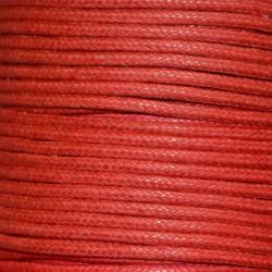 Coton ciré 1.5 mm rouge
