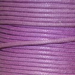 Coton ciré 1.5 mm lilas