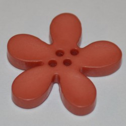 Fleur résine 3 cm parme