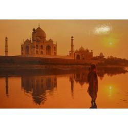 Carte 15 x 10,5 cm Taj Mahal