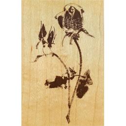 Tampon Brush Rose 110 x 75 mm