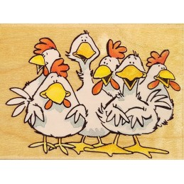Tampon Cluck!Quack! 60 x 85 mm