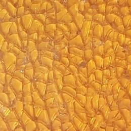Mosaïque craquelée orange