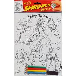 Plastique fou A4 Fairy Tales