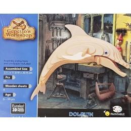 Puzzle 3D Dauphin 22x11.8x20cm