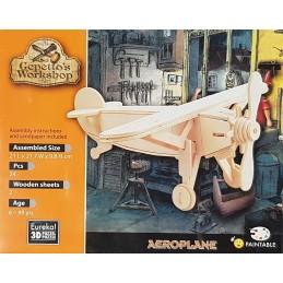 Puzzle 3D Avion 21x21.7x9.8cm