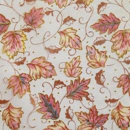 Tissu décoratif Feuilles...