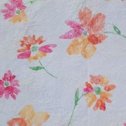 Tissu décoratif Fleurs...