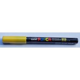 uni POSCA 1MR 0.7mm jaune